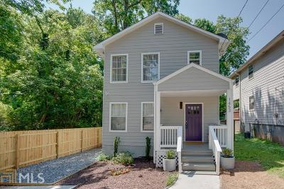 Atlanta Single Family Home New: 1453 Chipley Street