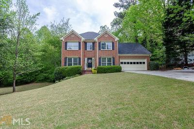 Snellville Single Family Home Under Contract: 3327 Chinaberry Ln