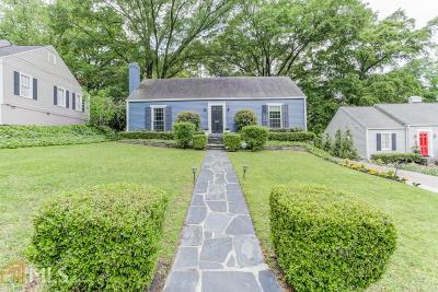 Atlanta Single Family Home New: 2070 Dellwood Dr