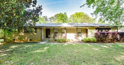 Clayton County Single Family Home New: 7632 Echo Ln