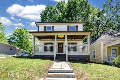 Atlanta Single Family Home New: 233 Ormond Street SE