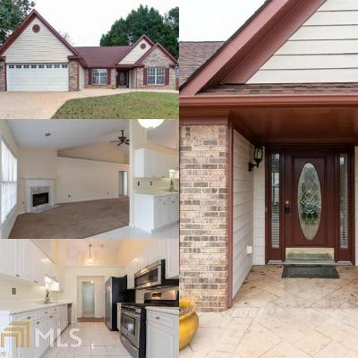 Gwinnett County Single Family Home New: 1235 Lendl Ln