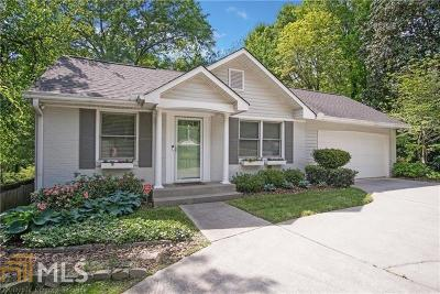 Atlanta Single Family Home New: 2472 Howell Mill Road