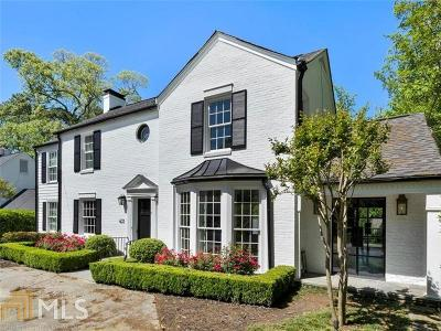 Atlanta Single Family Home New: 431 Collier Road