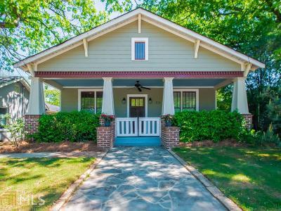 Atlanta Single Family Home New: 150 Battlefield Ave