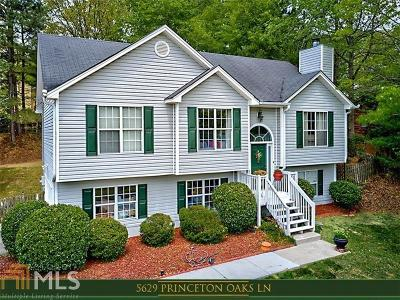 Sugar Hill Single Family Home New: 5629 Princeton Oaks Ln