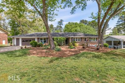Roswell Single Family Home New: 1080 Old Forge Drive