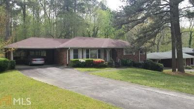 Atlanta Single Family Home New: 3678 Garrison Drive SW