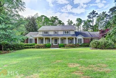 Sandy Springs Single Family Home New: 1000 The 16th Fairway