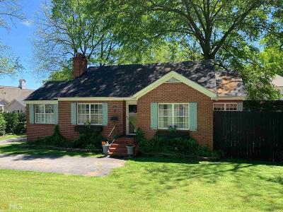 Cartersville Single Family Home New: 210 Church Street