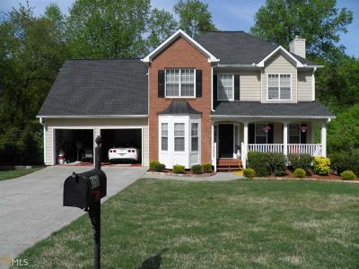 Suwanee Single Family Home New: 3350 Pierce Arrow