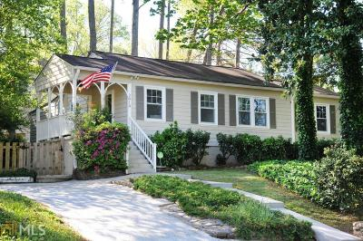 Brookhaven Single Family Home Under Contract: 2919 Skyland Dr