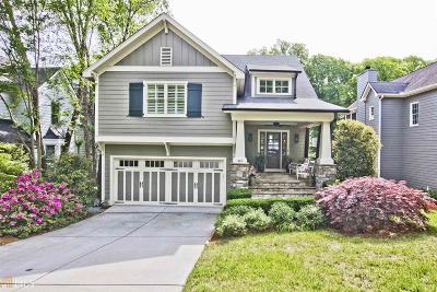 Atlanta Single Family Home New: 1765 Marvin Street