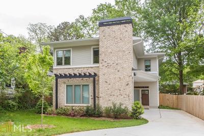 Atlanta Single Family Home New: 1411 Van Epps Ave