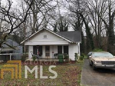 Atlanta Single Family Home New: 2809 7th Street