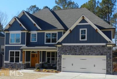 Cartersville Single Family Home New: 19 Brownwood Dr
