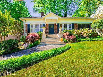Atlanta Single Family Home New: 1055 Reeder Circle NE