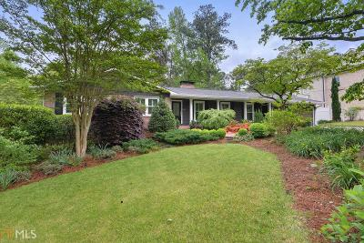 Sandy Springs Single Family Home New: 6619 Cherry Tree Ln