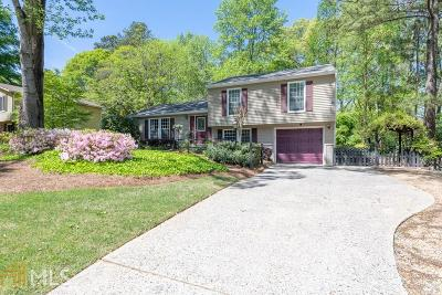 Roswell Single Family Home New: 460 N Pond Trail