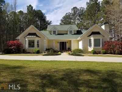 Tyrone Single Family Home New: 398 Mann Road