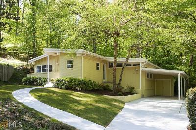 Single Family Home New: 2646 Defoors Ferry Rd