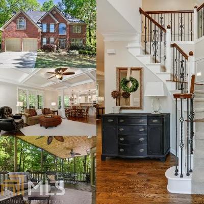 Suwanee Single Family Home New: 4965 Wiltshire Ln