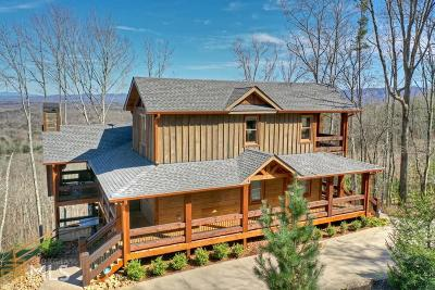 Blue Ridge Single Family Home For Sale: 1780 Sun Rock Mountain Rd