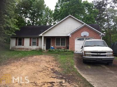 Bartow County Single Family Home New: 1589 Sugar Valley Rd