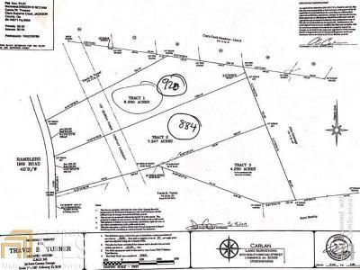 Jefferson Residential Lots & Land New: 920 Rambler Inn Rd