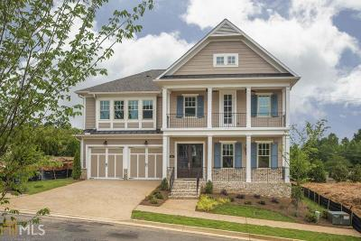 Roswell Single Family Home New: 3015 Barnes Mill Ct