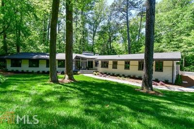Peachtree Battle Single Family Home For Sale: 2652 Brookdale Dr