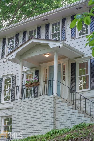 Gwinnett County Single Family Home New: 813 Lakeshore Drive