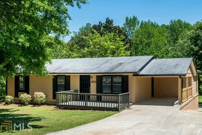 Austell Single Family Home Under Contract: 4360 Tradition Ter