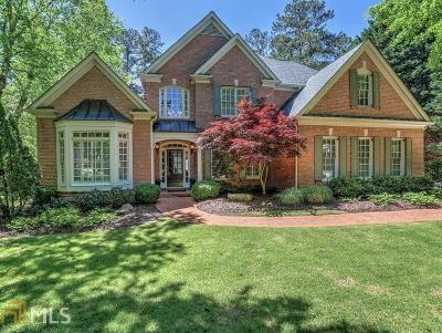 Marietta, Roswell Single Family Home Under Contract: 5124 Sapphire Dr