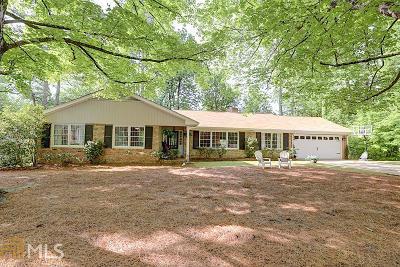Sandy Springs Single Family Home Under Contract: 450 Amberidge Trl