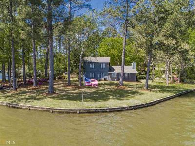Milledgeville, Sparta, Eatonton Single Family Home For Sale: 123 Ashwood Point