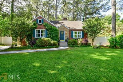 Avondale Estates Single Family Home Under Contract: 23 Covington Rd