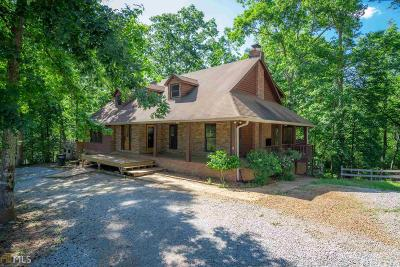 Social Circle Single Family Home For Sale: 4504 Hawkins Academy Rd #A