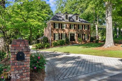 Lilburn Single Family Home Under Contract: 398 William Ivey Rd