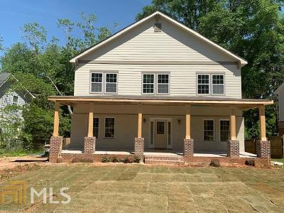 Decatur Single Family Home For Sale: 1326 Conway Rd