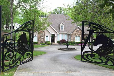 Single Family Home For Sale: 3799 Poplar Springs Rd
