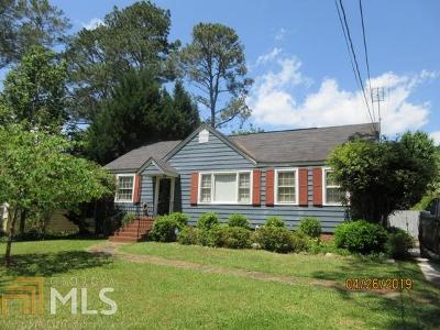 Griffin Single Family Home For Sale: 825 Hale Dr