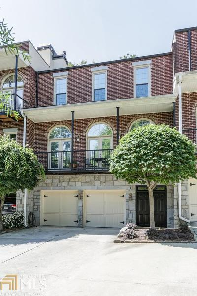 Roswell, Sandy Springs Condo/Townhouse For Sale: 5512 Glenridge Dr #J