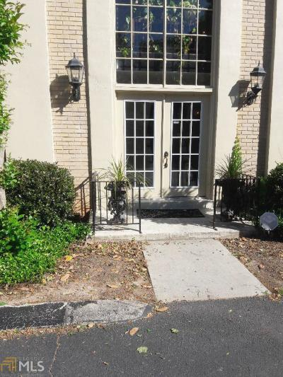 Sandy Springs Condo/Townhouse For Sale: 750 Dalrymple Rd #G1