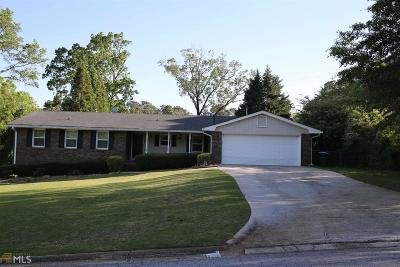 Tucker Single Family Home Under Contract: 4615 Ginson