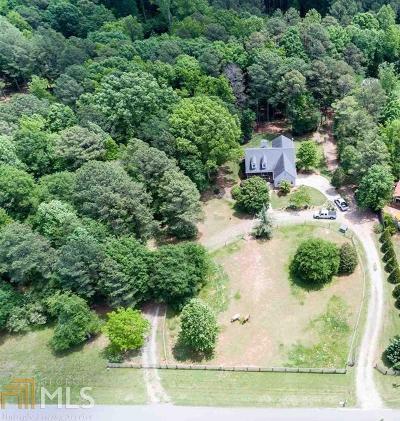 Monroe, Social Circle, Loganville Single Family Home For Sale: 2640 Walton Downs Rd