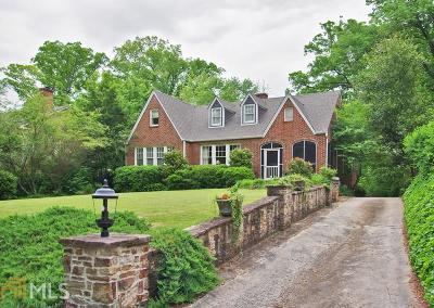 Druid Hills Single Family Home For Sale: 1729 E Clifton Rd