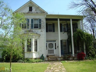 Lumpkin County Single Family Home For Sale: 237 S Park St