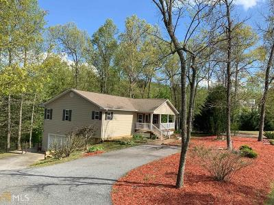Blairsville Single Family Home For Sale: 137 High Range Dr
