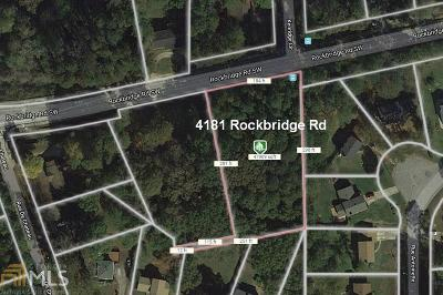 Stone Mountain Residential Lots & Land For Sale: 4181 Rockbridge Rd